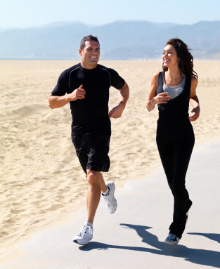 Better Your Relationship While Jogging on the Beach