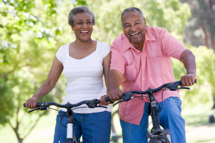 Couple enjoying health and fitness